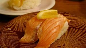 Nagoyakatei Kaiten-sushi (salmon)